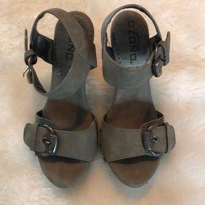 Shoes - Sage Capa de Ozono heeled sandals